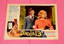original DEMENTIA 13 LOBBY CARD #4 Roger Corman