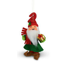 Annalee Dolls 2021 Christmas 5in Gnome for the Holidays Plush Ornament New w Box