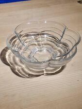 More details for vintage depression/art deco geometric desert bowl