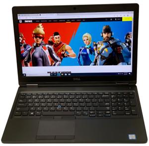 Dell Precision 3520 Laptop -2.7GHz i7-6820HQ 16GB 256GB SSD Webcam 1920x1080 S7