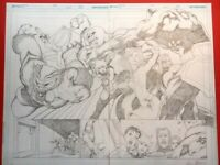 Supergirl 26 DOUBLE PAGE SPREAD!  Kevin Maguire!!  Excellent condition