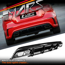AMG A45 Update Style Bumper Diffuser & Exhaust Tips for Mercedes A Class W176
