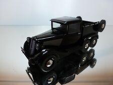 DEAGOSTINI GAZ 21 TRUCK LIGHT 1939 - BLACK 1:43 - EXCELLENT CONDITION -36