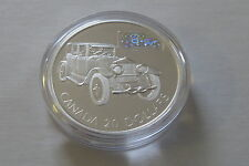 2002 PROOF SILVER HOLOGRAM $20 GRAY-DORT CAR SERIES WITH BOX & COA