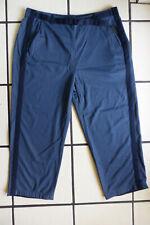 annette görtz 3/4 Schlupf-Hose Jeans-Blau Stoff-Gürtel Streifen Seite 46 NEU