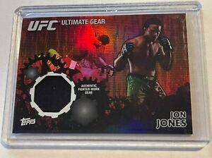 2010 Topps UFC Ultimate JON JONES Gear Relic Card #34/88 - Fighter Worn Gear