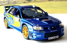 PERSONALISED PLATES Subaru Impreza Boys Dad Rally Toy Car Model Present Boxed