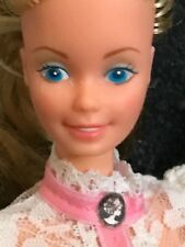 Mattel barbie doll 1980s vintage old fashioned with cameo