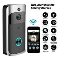 Wireless Smart WiFi Door Bell PIR Video Visual Camera Intercom Home Security Kit