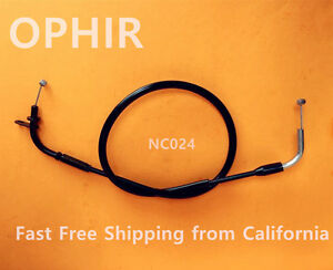 Motorcycle Throttle Cable For SUZUKI GSX-R750 1996 1997 1998 1999