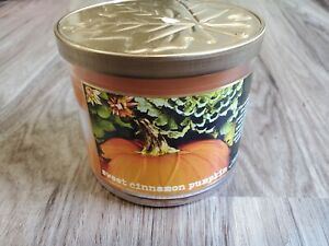 Bath & Body Works Sweet Cinnamon Pumpkin 3-Wick Candle 14.5 oz