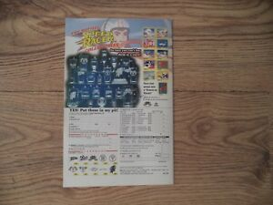 SPEED RACER  COLLECTABLES   ADVERTISEMENT   1999