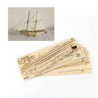 Hobby Halcon 1840 1/100 Segelboot Holz Modell Bausatz Bootsbau Montieren Display