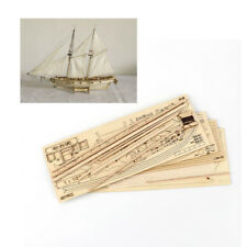 Hobby HALCON 1840 1/100 Sail Boat Wooden Model Kit Wood Ship Assemble Display