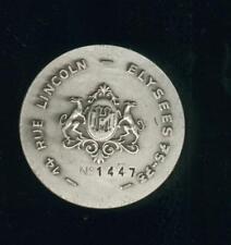 Médaille numérotée champagne Henriot Reims