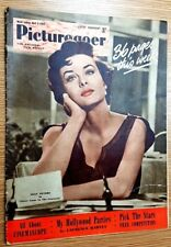 PICTUREGOER FILM MAGAZINE: JEAN PETERS - MARILYN  MONROE - April 1954