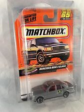 MATCHBOX 1999 #65 Mercedes Benz E-Class - Mint to NM Card in Protective Case