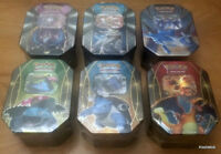 SEALED Pokemon Card Collectors TINS + ULTRA RARE + HOLOS + RARES + PROMOS
