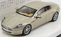 scale model 1/43, ASTON MARTIN RAPIDE - GENEVA 2010 - SILVER BLONDE
