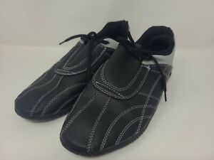 Century Lightfoot Martial Arts Sparring Shoes - Men's Size 7 - Black/Gray