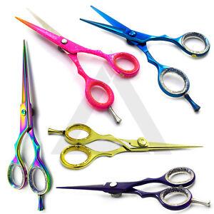 """New Hair Scissors Barber Shears Hairdressing Scissor Razor Sizes 4.5"""""""