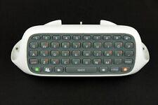 Microsoft Xbox 360 Controller Chatpad Keyboard Attachment - X814365-001 - White