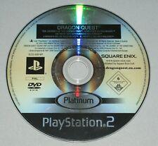 Dragon quest el periplo del rey maldito disco solamente-Playstation 2 PS2 PAL *
