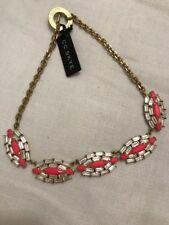CC Skye Womens Queen Rebel Pink Fashion Statement Necklace Jewelry O/S New
