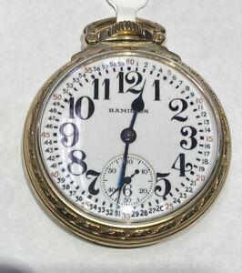 1947 Hamilton 992B - 21 Jewels - Pocket Watch