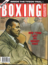 BOXING ILLUSTRATED MAGAZINE MIKE TYSON TRIAL BILLY GRAHAM MELDRICK TAYLOR MAY 92