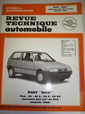 FIAT Uno Pop 45 60 903cm3 Fire- Revue Technique Automobile NEUVE