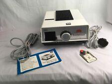 Braun Nurnberg Paximat De Luxe Halogen Slide Projector Made In West Germany