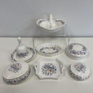 Wedgwood Angela Trinket Box Dish Bell Basket Bundle Job Lot 7 Small Items