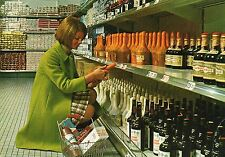 SELF SERVICE AIRPORT SHOPPING UITGAVE CENTRE AMSTERDAM POSTCARD POSTED 1968