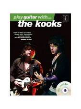Learn to Play Guitar With The Kooks POP Chart Hits Songs Tab MUSIC BOOK & CD