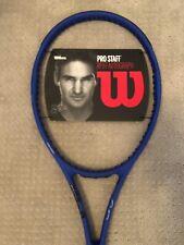 Wilson Pro Staff RF97 Autograph Laver Cup 2019 tennis racquet 4 3/8 Blue RF 97