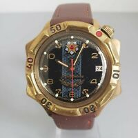 Wrist Watch Komandirskie Admiralslie Soviet USSR Vostok