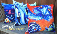 DEBORAH BROUGHTON ART Throw Pillow Cushion COVER 45x45cm Australia Animal Series