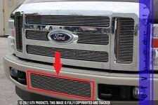 GTG 2008 - 2010 Ford F250 F350 F450 F550 1PC Polished Bumper Billet Grille Grill