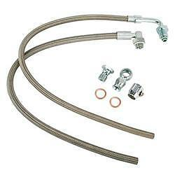 Braided Stainless Steel Power Steering hose kit Lokar Gm chevy chevrolet gmc