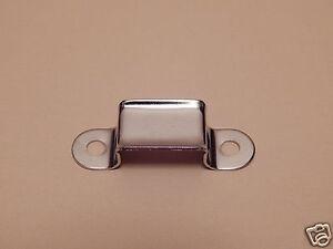 Handle Loop For Camel Back Steamer Trunk Foot Locker Nickel Plated Pair