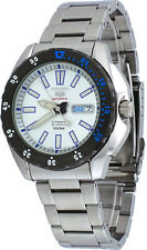 Seiko 5 Sports SRP359 Men's Stainless Steel Silver Dial Automatic Watch