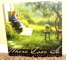 WHERE LOVE IS ARTWORK by Robert Duncan 2002 MORMON LDS TABLE TOP