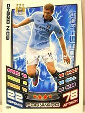 Match Attax 2012/13 Premier League - #124 Edin Dzeko - Manchester City