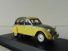 Citroen 2cv DOLLY 1985 Rialto jaune 1/43 Norev 151398 Canard DEUX CHEVAUX 2 CV
