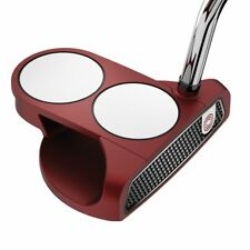 LEFT HANDED ODYSSEY 2017 O-WORKS RED 2-BALL PUTTER 35 IN