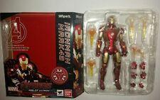 Sh Figuarts iron man mark 43 mafex marvel legends avengers