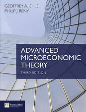 NEW - FAST to AUS - Advanced Microeconomic Theory by Jehle, Reny (3 Ed)