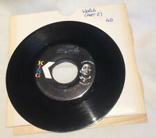 "James Brown 'I Cried' - Vinyl 7"" single record US release 1971 45-6363"