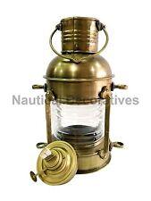 Nautical Antique Ship Lamp Boat Oil Lantern Maritime Collectible Decorative